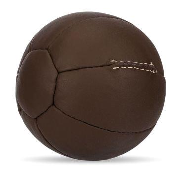 Medizinball aus echtem Leder