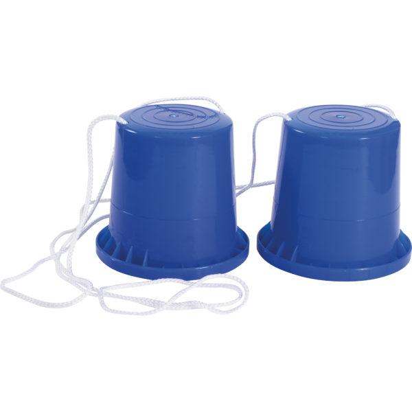 Becherstelzen blau für Kinder