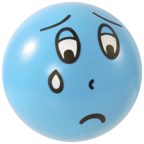 Emotionsball traurig