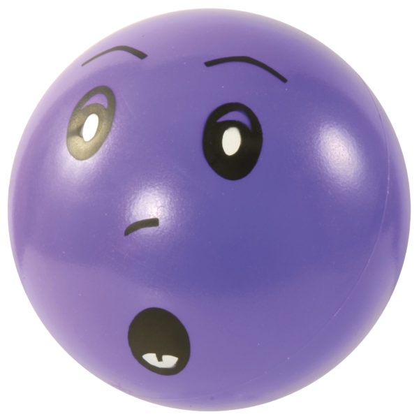 Emotionsball erstaunt