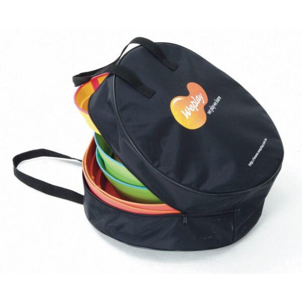 Tasche für den Transport der Flusssteine