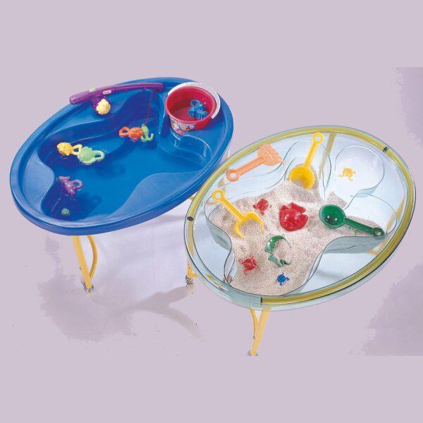 Sand- Wassertisch zum Plantschen und Matschen für Kinder