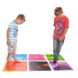 Faszinationsmatten Bewegungsspiele für Kinder