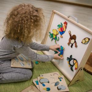 Magnet Puzzles für Kinde rin Kindergarten- und Schulalter