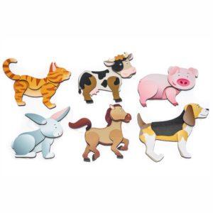 Magnet Puzzle Bauernhoftiere