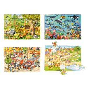Entdecker Puzzle 3er Set Puzzles