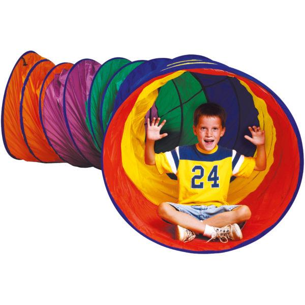 Kriechtunnel groß für Bewegungsspiel mit Kindern