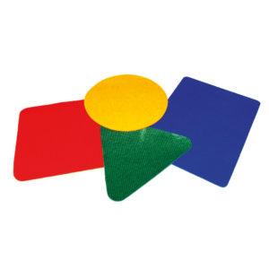 Teppichfliesen Sitzen, Parcour legen, Bewegungsspiele für Kinder