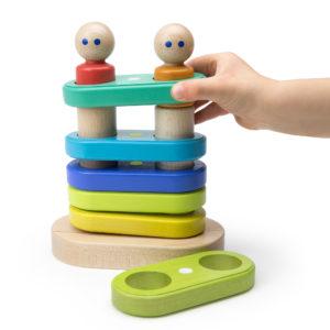 tegu Magnetisches Stapelspiel für Kinder ab 1 Jahr
