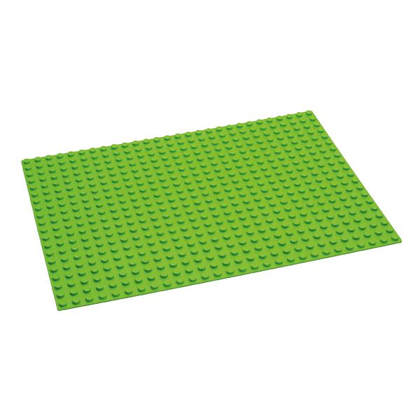Duplo® kompatible Bauplatte in grün