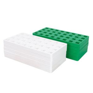 Bauplatten für Plus Plus Bausteine Midi