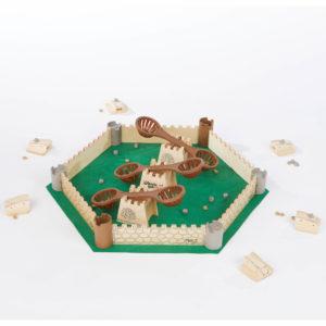 Katapulta Gesellschaftsspiel von olifu für Kinder ind Kindergarten- uns Schulalter