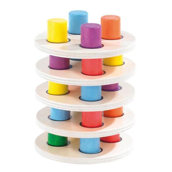olifu Colourbox Lernspiel Farben für Kinder in Kindergarten- und Schulalter
