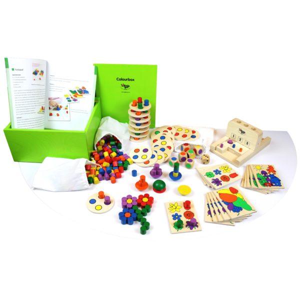 olifu Colourbox Spielebox
