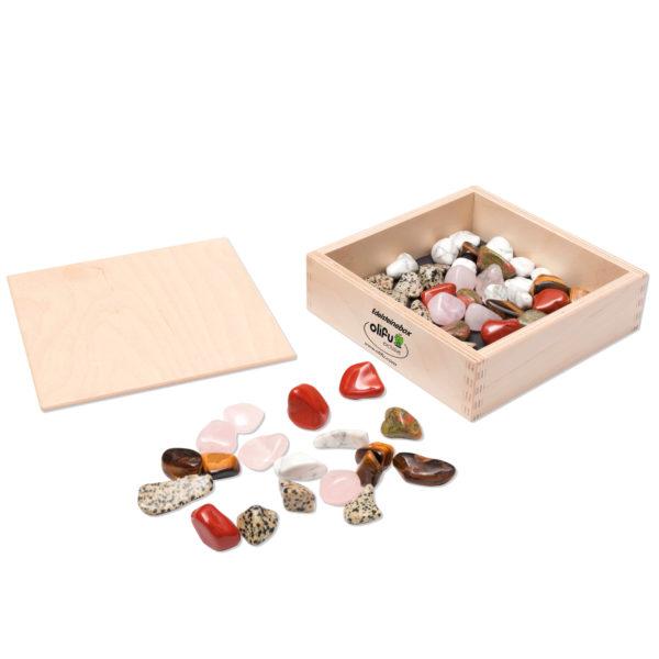 Edelsteine- Box von olifu zum Spielen