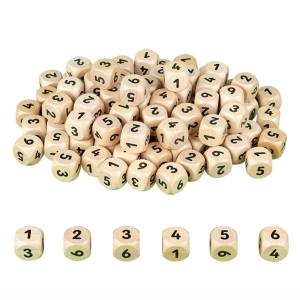 Zahlenwürfel von olifu Erstes Rechnen und Zahlen erlernen