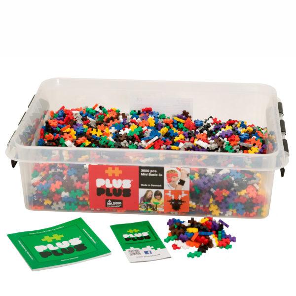 Plus Plus Mini Bausteine Konstruktionsmaterial für Kinder in Kindergarten-und Schulalter