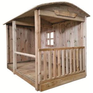 Ponyhof aus Holz für Kinder unter 3 Jahren