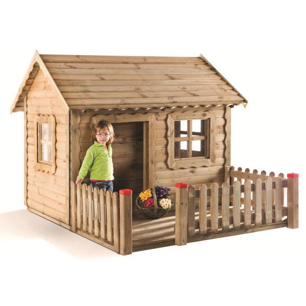 Spielhaus aus hochwertigem Kiefernholz