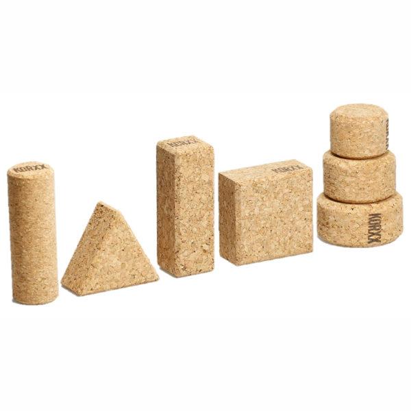 Kork Bausteine für Kinder in Kindergarten und Schule