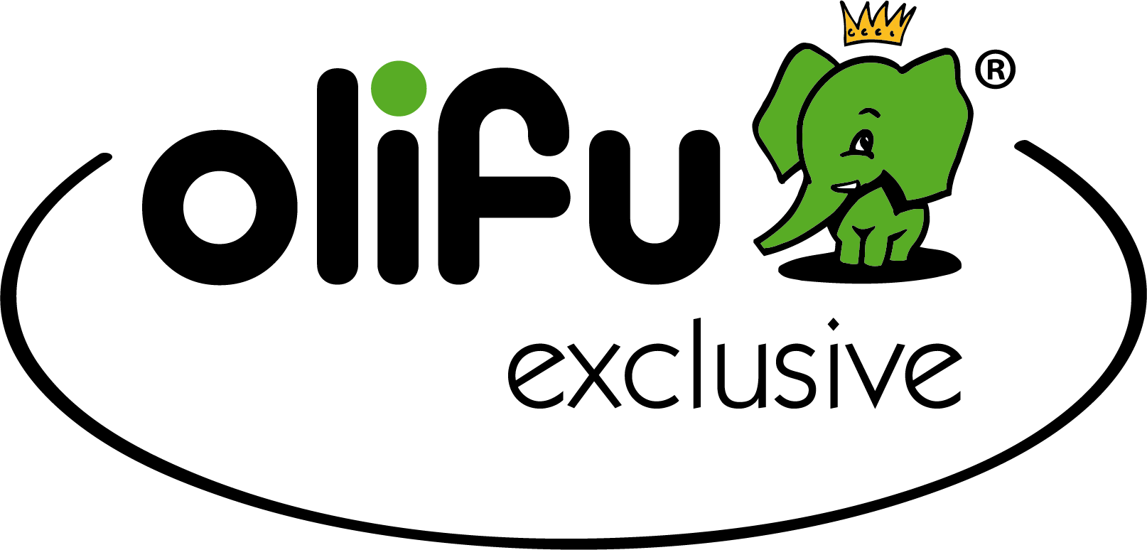 Logo der deutschen Kindergarten-Spiele-Marke olifu
