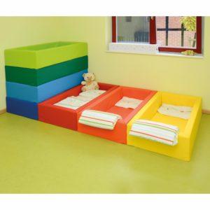 Schaumstoffbettchen für Krippe und Kindergarten