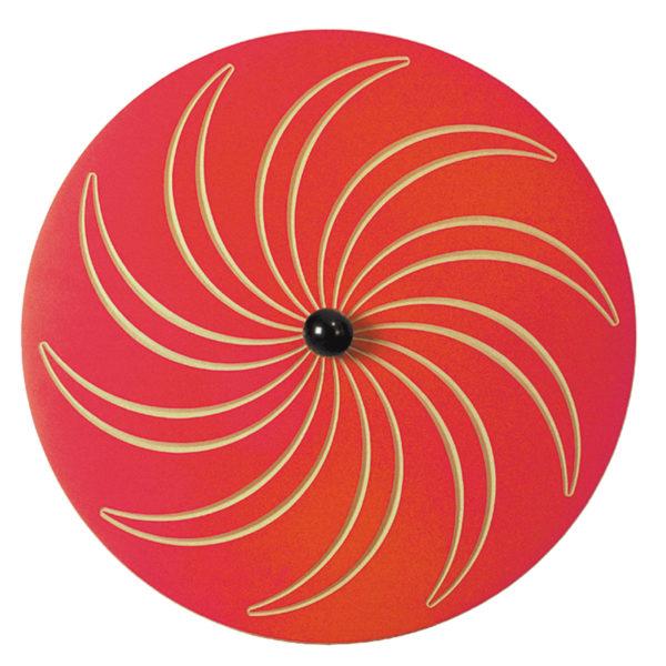 Wandkreisel Spirale Hinterseite für Gruppenräume in Krippe und Kindergarten