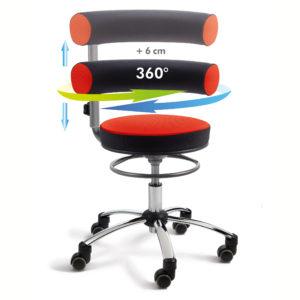 Sanus Gesundheitsstuhl für ergonomisches Sitzen