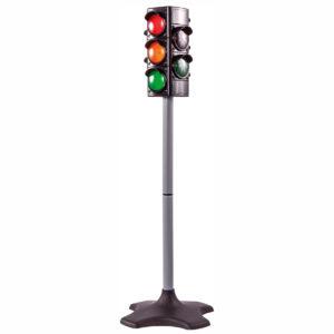 Ampel zum Verkehrsregeln üben mit Kindern