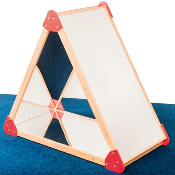 Spiegelpyramide aus Sicherheitsglas