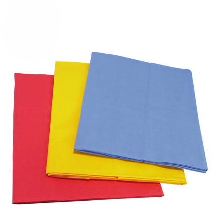 Farbige Tücher für nic Spielhaus