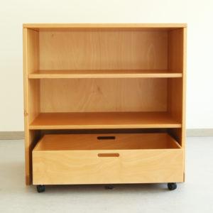 Bausteinschrank für Gruppenräume in Krippe und Kindergarten