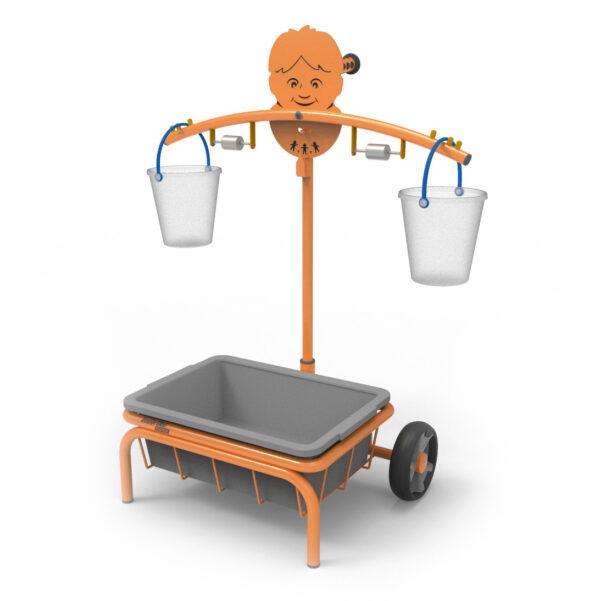 Mobile Toptrike Waage für Kinder in Kindergarten- und Schulalter