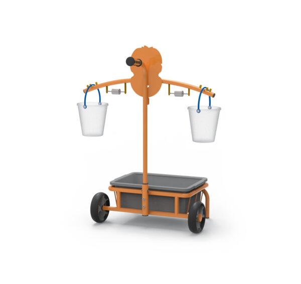 Mobile Toptrike Waage für Kinder Kindergarten- und Schulalter