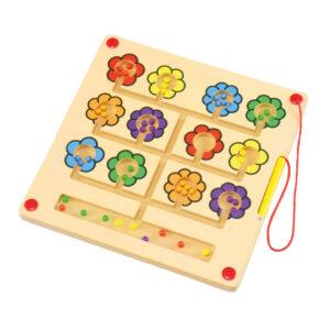 Magnetspiel Blumen Tischspiel für Kinder in Kindergarten- und Schulalter