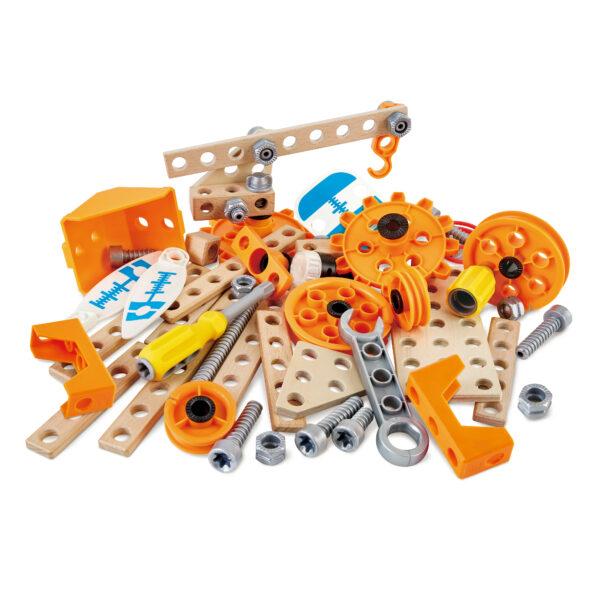 Erfinder Set Deluxe Konstruktionsset für Kinder in Kindergarten und Schule