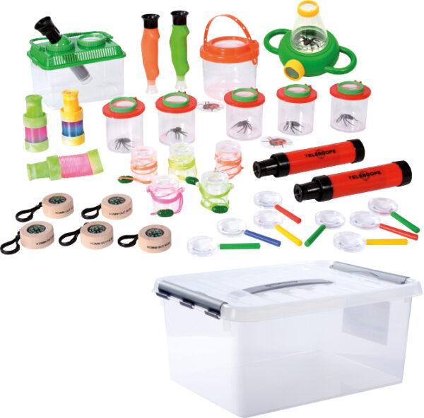 Forscher Box für Kinder in Kindergarten und Schule