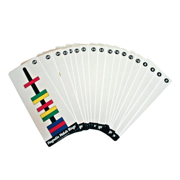 Vorlagekarten für Schwebende Ringe Lernspiel