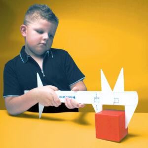 XXL Messschieber Lernmaterial für Kinder in Kindergarten und Schule