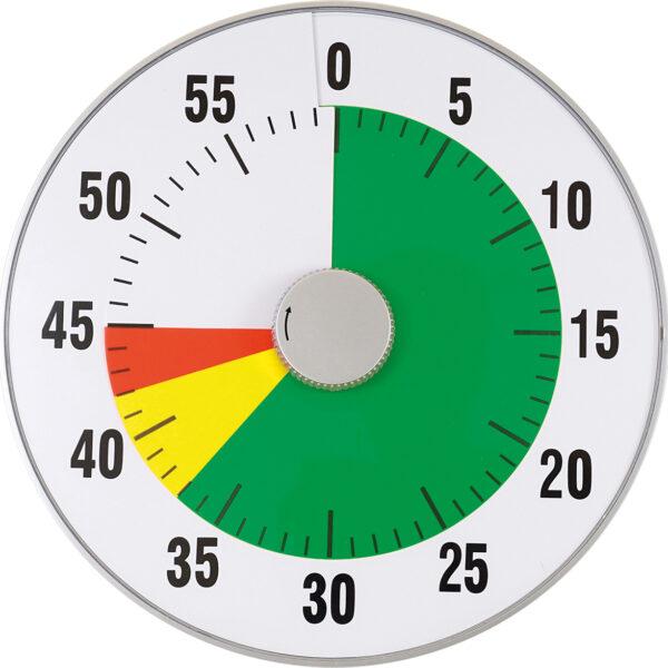 Zeitdauer- Uhr lautlos XL