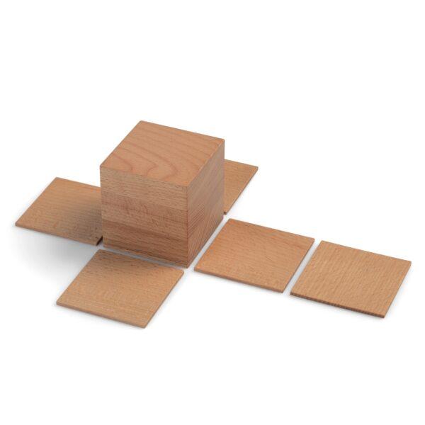 Geometrische Körper auss Holz