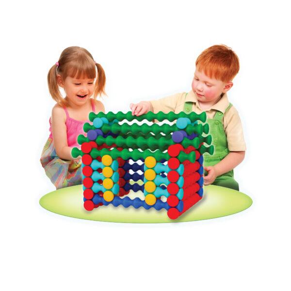 Playstix Mega Baumaterial für Kinder ab dem Krippenalter