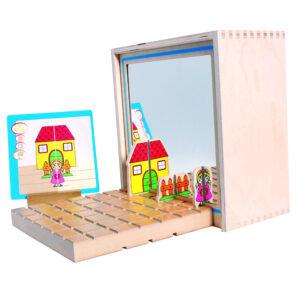 ToPoLoGo Visio Tischspiel für Kinder in Kindergarten- und Schulalter