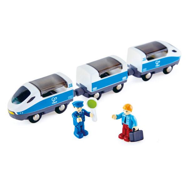 Intercity Zug mit 2 Figuren