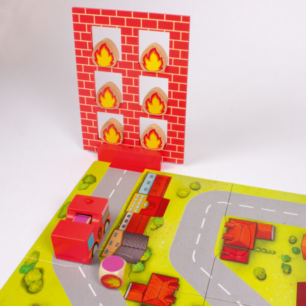 Tischspiel Feueralarm