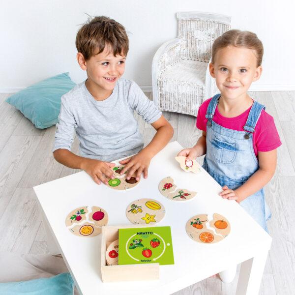 Lernpuzzle Nawito Früchte
