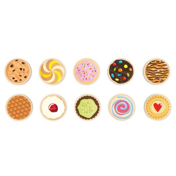 Spielsteine zum Tischspiel Cookie Doo