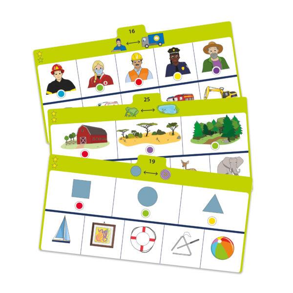 Aufgabenkarten von Logiturn Lernspiel Zuordnen
