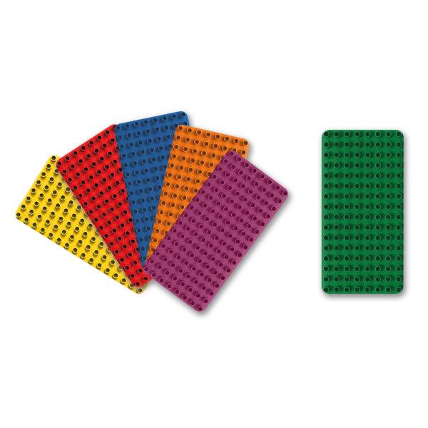 Biobuddi Bauplatten Duplo® kompatibel nachhaltige BAusteine