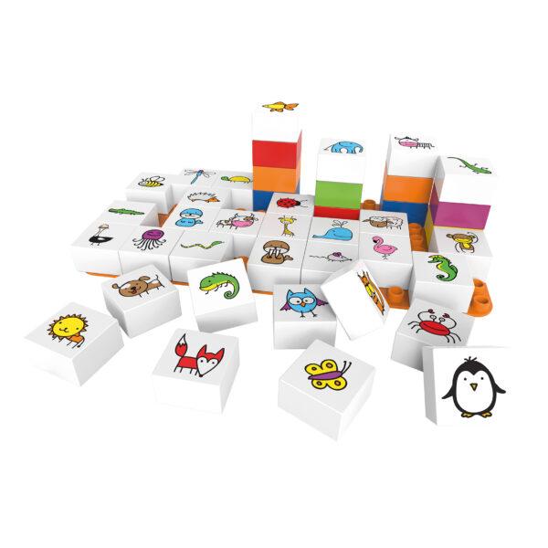 Biobuddi Lernspiel-Set Duplo® kompatibel